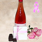 Our Think Pink Gift Basket, 10% of the proceeds are donated to breast cancer treatment