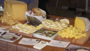Goat Cheese at the show