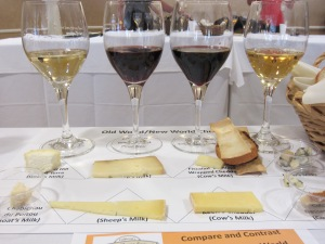 OId World/New World Wine and Cheese